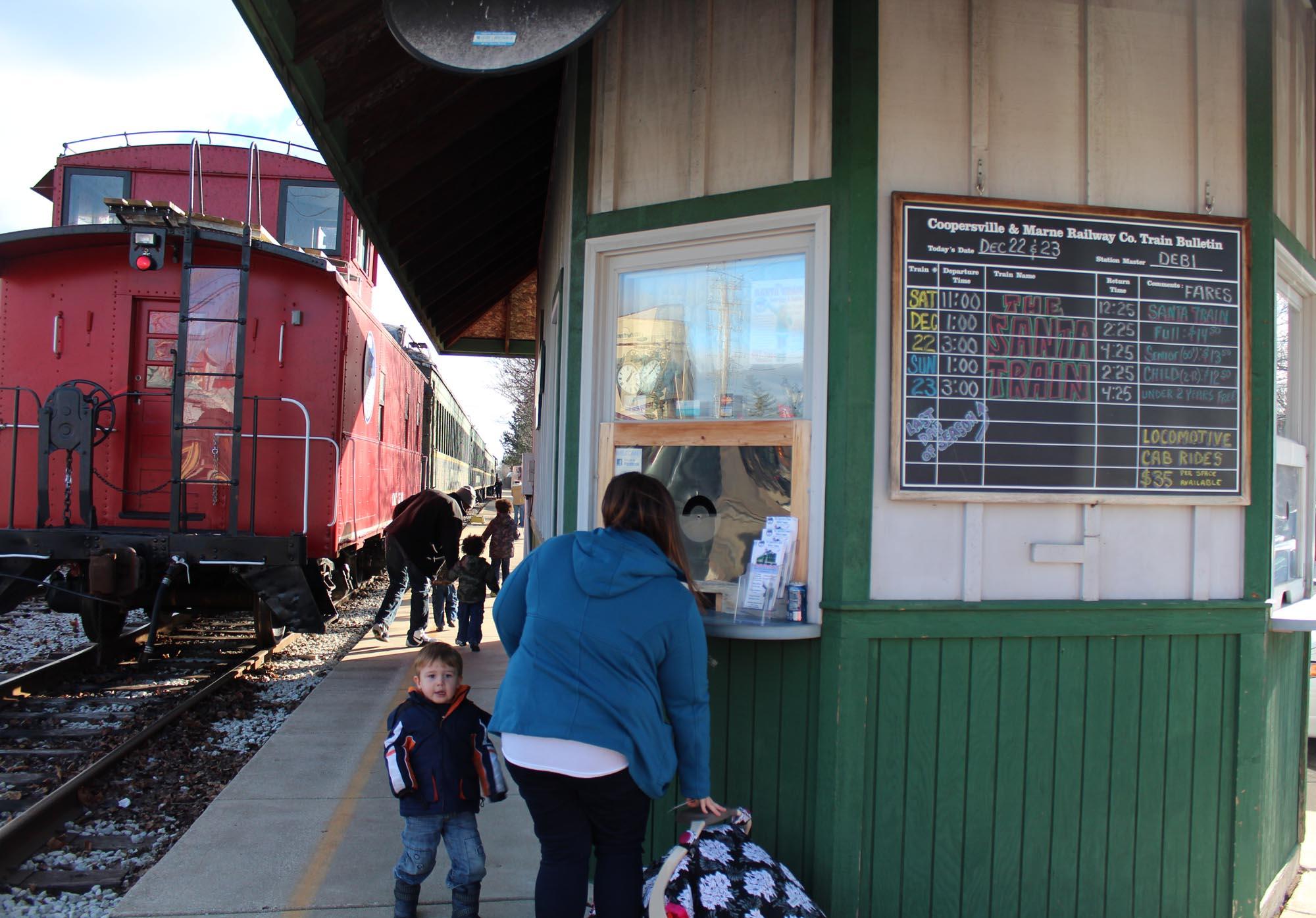 Coopersville Train2